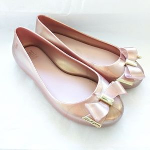 Mel dreamed by Melissa girls pink gold Shoes Flats
